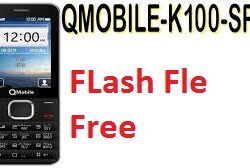 QMobile K100 SPD6531 Flash File With Boot Key