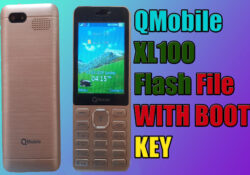 QMobile XLL100 Flash File With Boot key Free Download New model