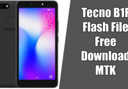 Tecno Pop 2F (B1F) Care Firmware Flash File 8.1 Tested | Free