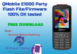 E1000 PARTY V2 MT6261 Flash File Firmware Free Download