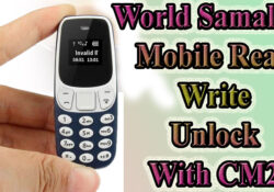 Mini Phone Flash File World Smallest phone with cm2