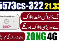 Zong E5573cs 322 Unlock All Sim All SIM Unlock File FREE