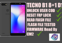 TECNO B1 8+1 D1 FLASH FILE TESTED FIRMWARE Read By CM2