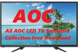 All AOC LED TV Software Collection Free Download