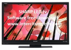 SHARP LED TV Software Firmware All Free Download